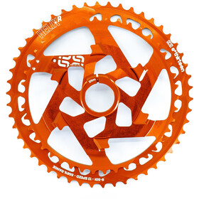 e*thirteen Helix Race Upper Sprocket 12-speed Aluminium, naranja